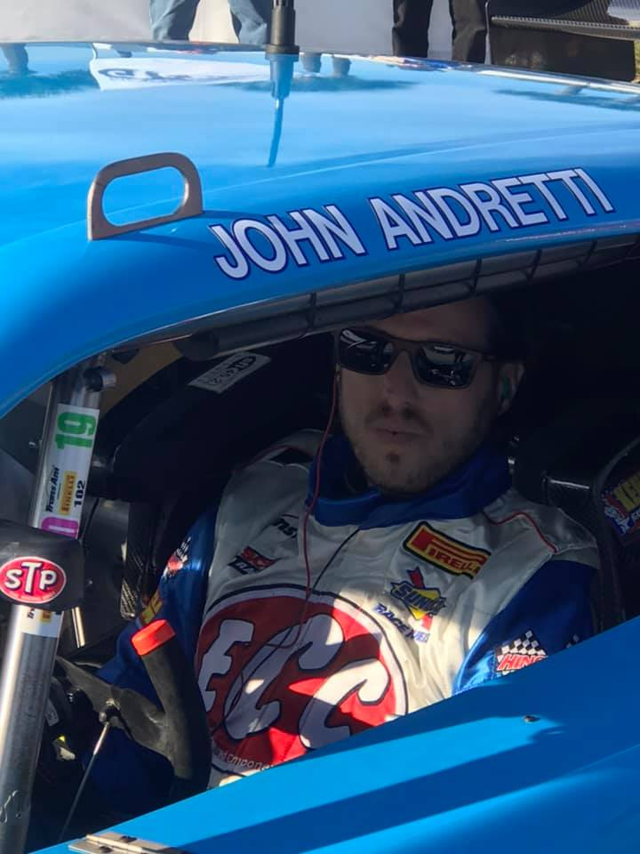 Andretti paint scheme in Trans Am Series