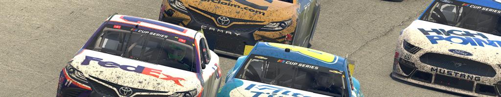 Denny Hamlin, Dale Earnhardt Jr thrill fans in final lap iRacing battle (Video)
