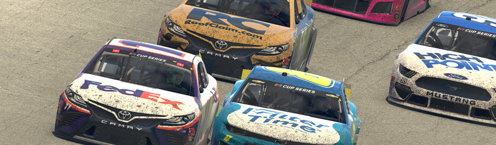 Denny Hamlin, Dale Earnhardt Jr thrill fans in final lap iRacing battle (Video)
