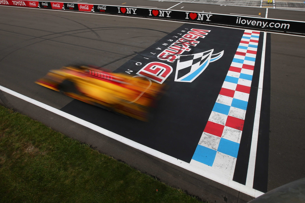 Indycar Motion Blur - Watkins Glen International