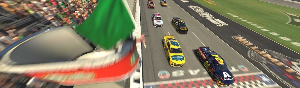 NASCAR iRacing Series Results: March 29, 2020 (Texas Motor Speedway) Video