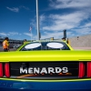 Ryan Blaney at Phoenix Raceway - Small NASCAR spoiler - Short Track