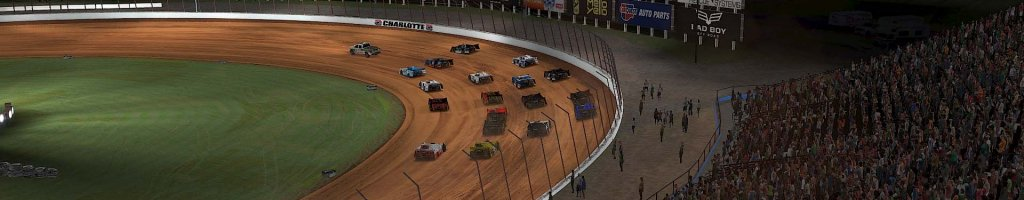 iRacing World of Outlaws Late Model Results: March 30, 2020 (Dirt Track at Charlotte) LIVE VIDEO