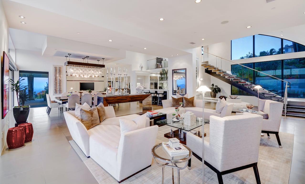 California Interior Architecture - Contemporary - Graham Rahal living room