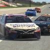 Denny Hamlin crashes at Talladega Superspeedway - eNASCAR