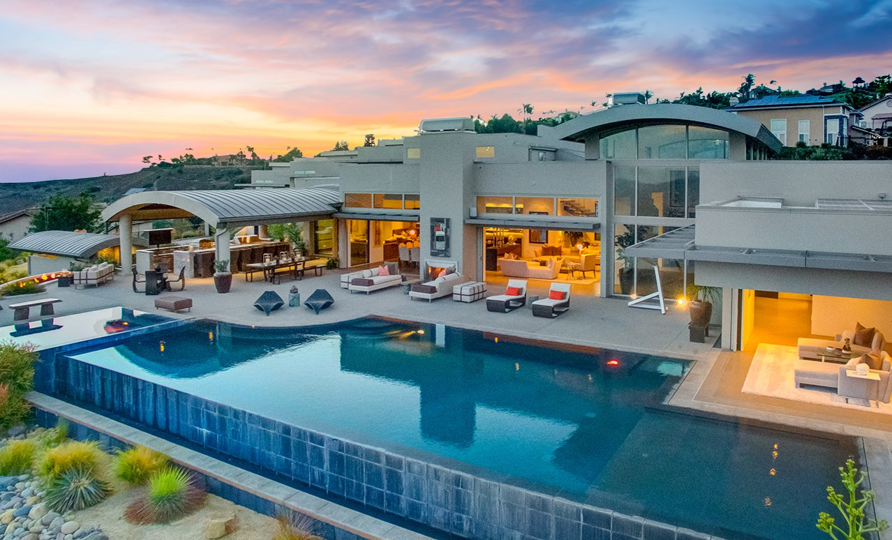 Graham Rahal Home - Exterior Pool