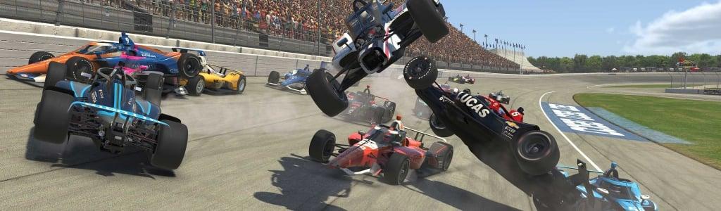 INDYCAR iRacing Results: April 11, 2020 (Michigan International Speedway)