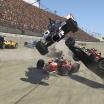 INDYCAR iRacing crash - Michigan International Speedway