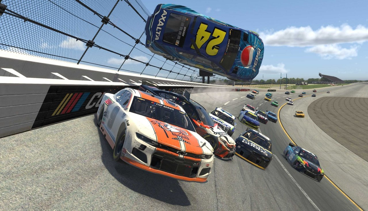 Jeff Gordon and Chase Elliott in big crash at Talladega Superspeedway - eNASCAR