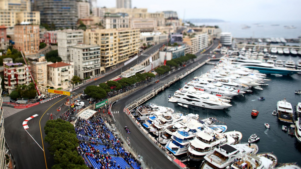 Monaco Grand Prix - Tilt Shift Photo - Formula One