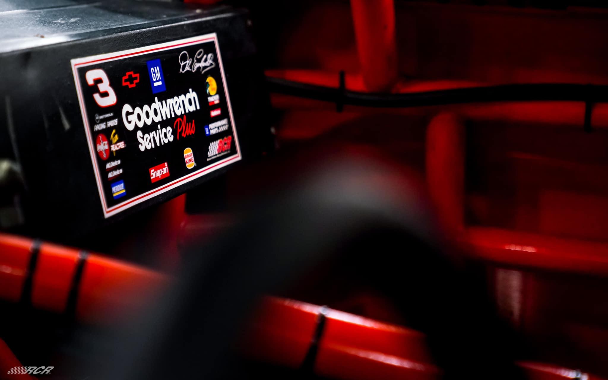 NASCAR cockpit - Dale Earnhardt 3 car