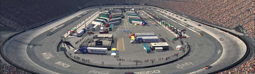 NASCAR iRacing Results: April 4, 2020 (Bristol Motor Speedway – SNT) Video