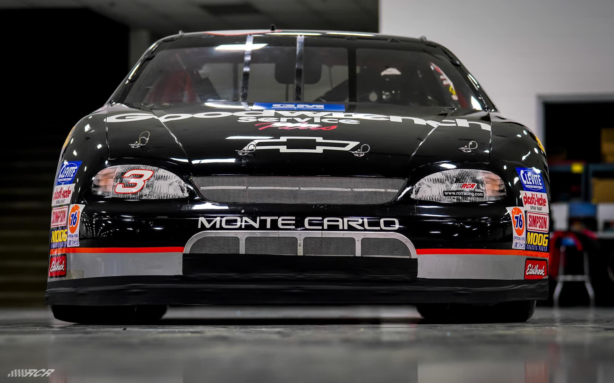 NASCAR race car driven by Dale Earnhardt - RCR