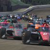 Robert Wickens and Will Power - Twin Ring Motegi - Japan - INDYCAR iRacing Series