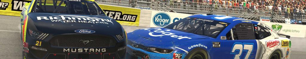 Matt DiBenedetto disqualified in a giraffe onzie from NASCAR iRacing event (VIDEO)
