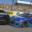 Ryan Preece at Matt DiBenedetto crash at Richmond Raceway - NASCAR iRacing