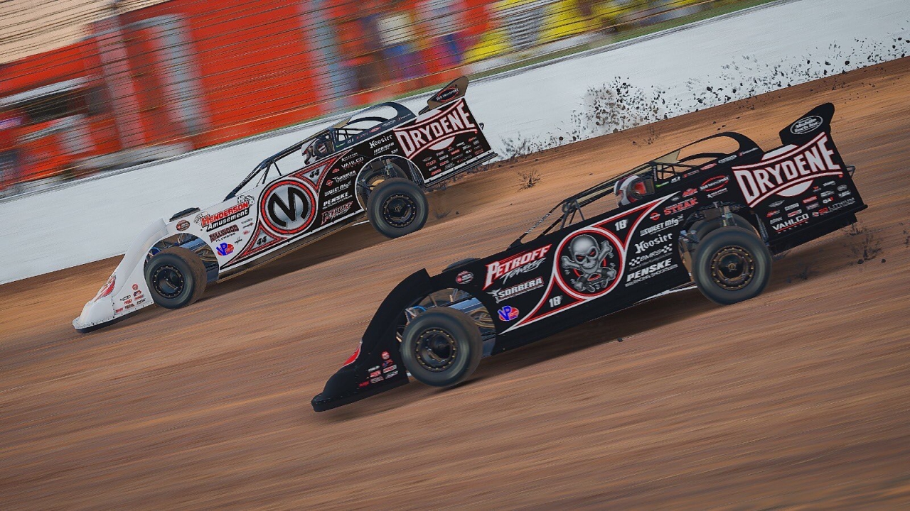 Scott Bloomquist and Corey Gordon - iRacing - World of Outlaws