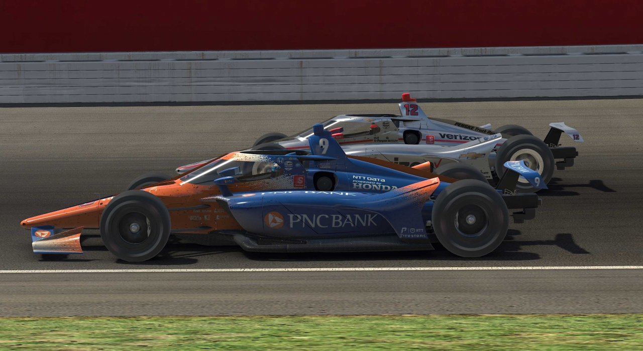 Scott Dixon and Will Power - Twin Ring Motegi - Japan - INDYCAR iRacing Series