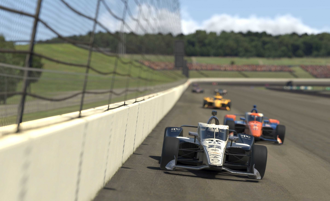 Simon Pagenaud - Twin Ring Motegi - Japan - INDYCAR iRacing Series