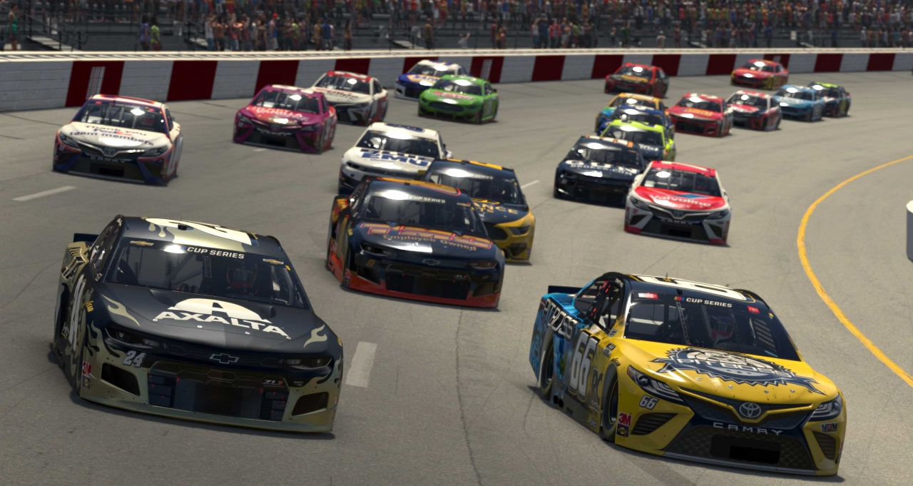 William Byron and Timmy Hill - Richmond Raceway - NASCAR iRacing Series