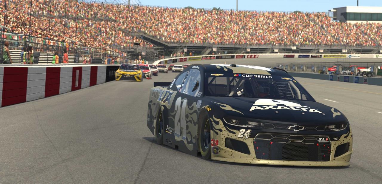 William Byron at Richmond Raceway - NASCAR iRacing