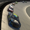 William Byron leads at Bristol Motor Speedway - NASCAR iRacing