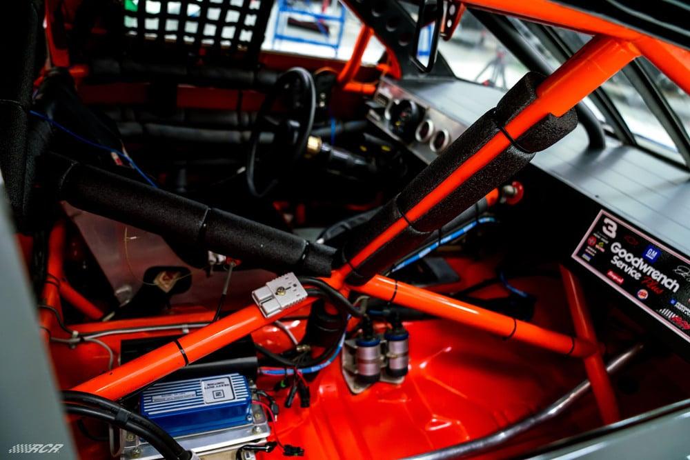 1996 NASCAR cockpit - Dale Earnhardt