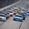 Brad Keselowski and Kevin Harvick at Darlington Raceway - NASCAR Cup Series