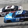 Brad Keselowski and Martin Truex Jr at Bristol Motor Speedway - NASCAR Cup Series