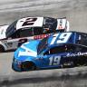 Brad Keselowski and Martin Truex Jr at Bristol Motor Speedway - NASCAR Cup Series