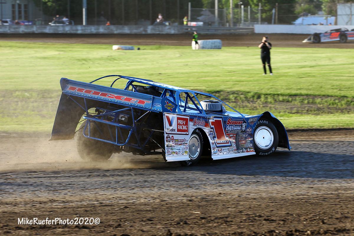 Brandon Sheppard at Davenport Speedway