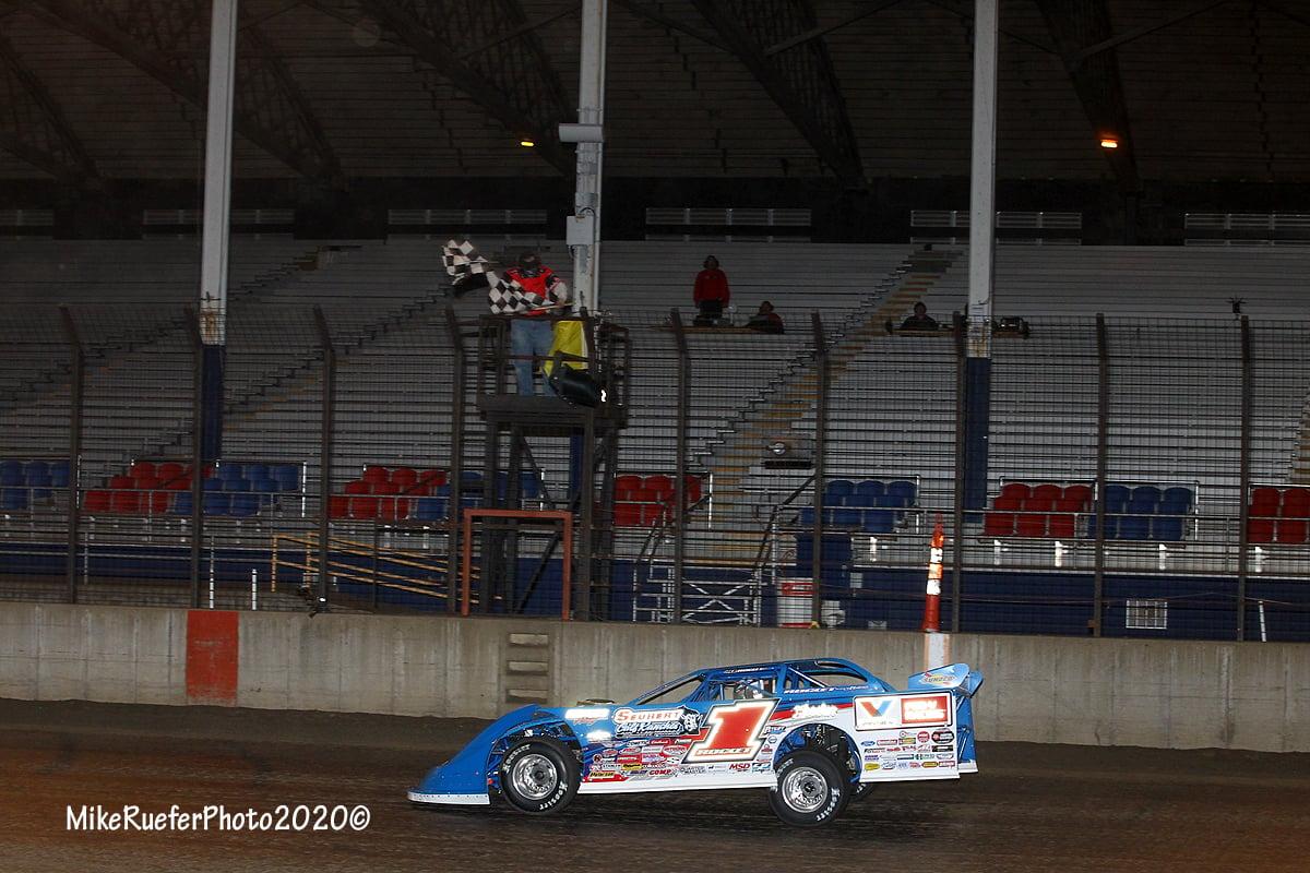 Brandon Sheppard wins at Davenport Speedway