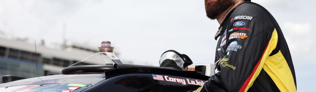 Corey LaJoie signs contract with Spire Motorsports
