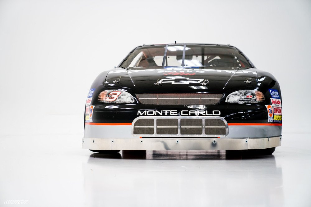 Dale Earnhardt 1996 NASCAR race car photo
