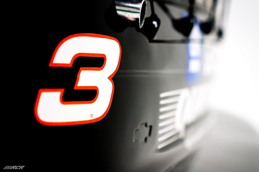 Dale Earnhardt #3 car - 1996 NASCAR chassis