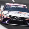 Denny Hamlin at Charlotte Motor Speedway in the Coca-Cola 600