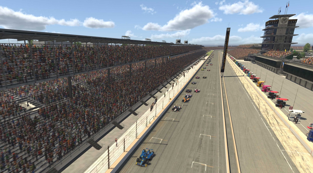 INDYCAR iRacing Challenge - Indianapolis Motor Speedway