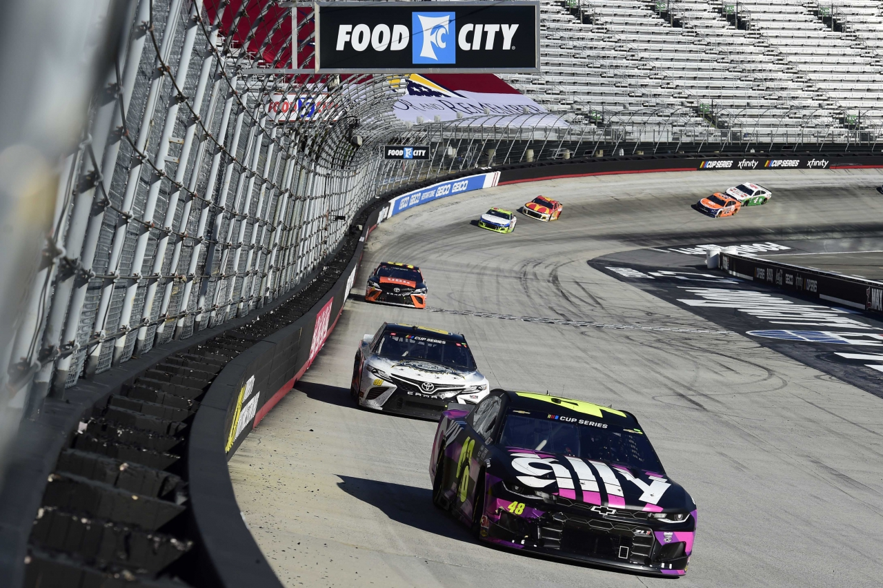 Jimmie Johnson at Bristol Motor Speedway - NASCAR Cup Series