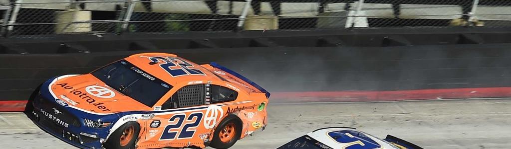 Chase Elliott crashes Joey Logano in NASCAR race at Bristol Motor Speedway (Video)