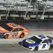 Joey Logano and Chase Elliott crash at Bristol Motor Speedway - NASCAR Cup Series