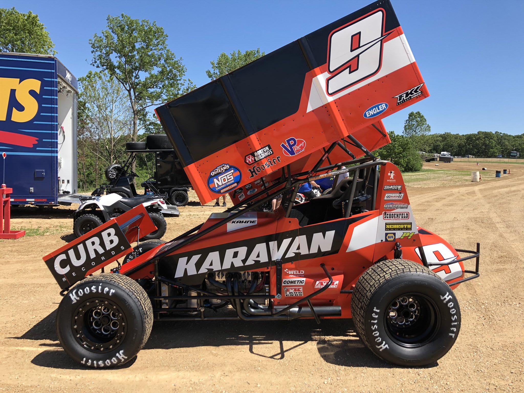 Kasey Kahne - World of Outlaws Sprint Car - Lake Ozark Speedway