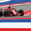 Kimi Raikkonen - Scuderia Ferrari 2018 car - Circuit of the Americas - F1