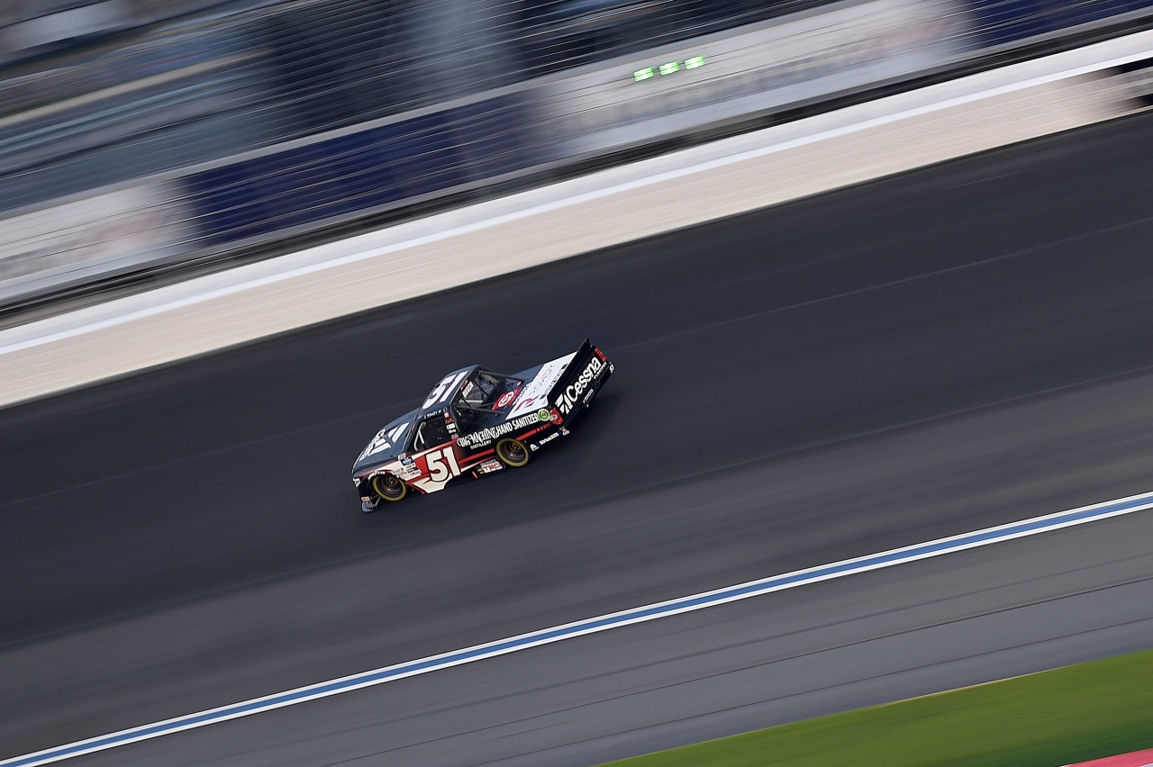 Kyle Busch - NASCAR Truck Series at Charlotte Motor Speedway