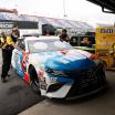 Kyle Busch - NASCAR inspection at Darlington Raceway
