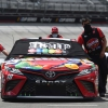 Kyle Busch in the garage area - NASCAR Cup Series