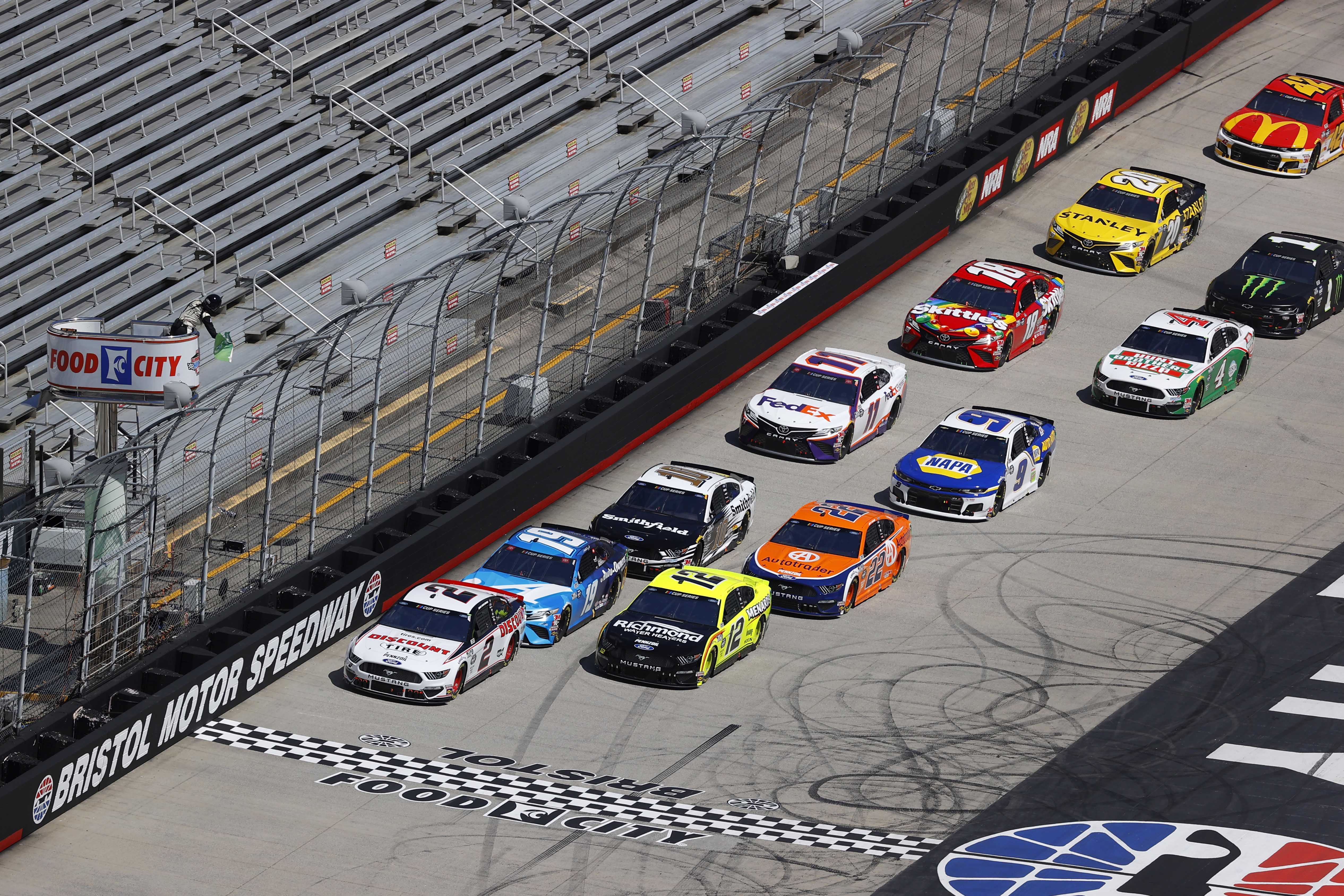 NASCAR Cup Series at Bristol Motor Speedway without fans