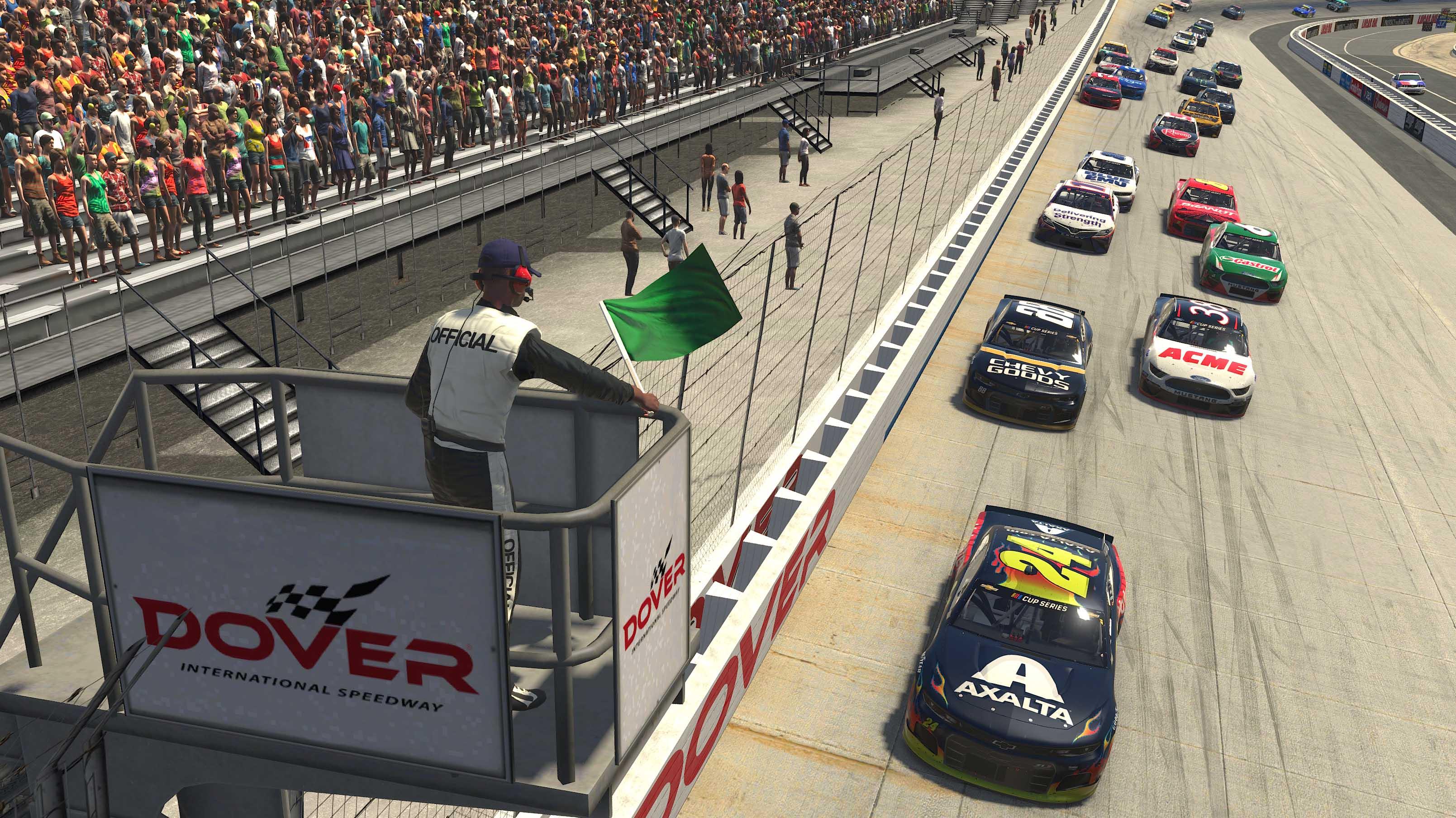 NASCAR Cup Series at Dover International Speedway - NASCAR iRacing