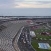 NASCAR Truck Series at Charlotte Motor Speedway - Empty Grandstands