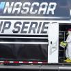 NASCAR hauler cleaned at Darlington Raceway - Coronavirus
