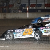 Ricky Thornton Jr and Brandon Sheppard at Davenport Speedway - World of Outlaws